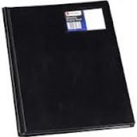 DISPLAY BOOK 24P REXEL SLIMVIEW BLACK