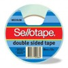 DOUBLE SIDED TAPE SELLOTAPE 18X33 404