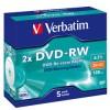DVD-RW VERBATIM RE-RECORDABLE PK5 94501