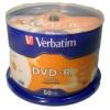 DVD-R VERBATIM PRINTABLE SPINDLE50 95079