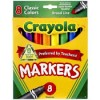 MARKERS CRAYOLA BROAD TEACH/PREF PK8