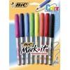 MARKER BIC MARK-IT ASST PK8