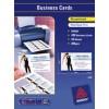 LABELS A4 10UP BUS CARD I/J WH L/G 70450