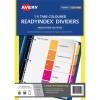 DIVIDERS AVERY 5TAB PVC COL L7411 920145